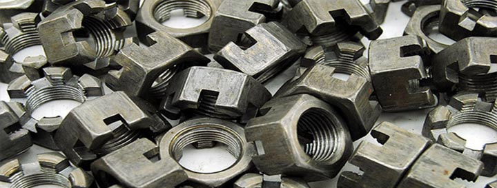 slotted nuts, fastener, nut, round nuts