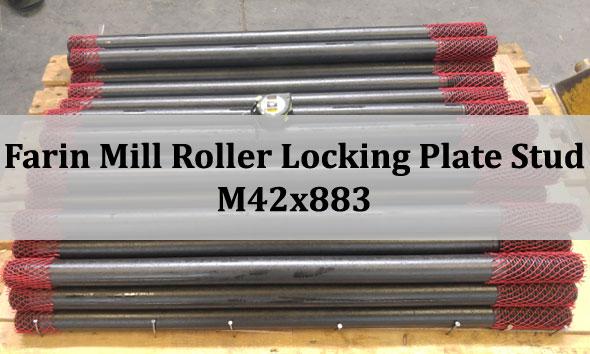 farin mill stud, farin mill bolt, farin mill roller bolt, farin mill roller stud, cement industry fastener, fastener for cement industry, bolts for cement factory, fastener for cement factory