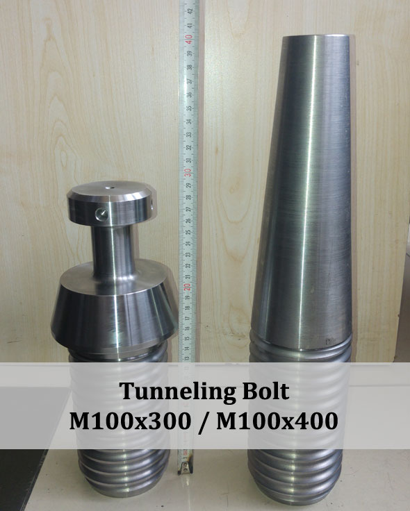 tunneling bolt, tunnel bolt, tunneling screw, tunneling screws, tunnel screw, fastener for tunnel, tunneling fasteners